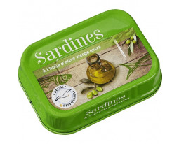Sardines à l'Huile d'Olive Vierge Extra Grand Jury