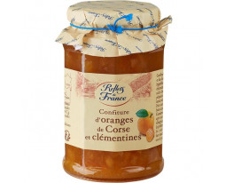 Confiture d'Orange et Clémentine de Corse Reflets de France