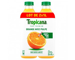 Pur Jus d'Orange avec Pulpe Pure Premium Tropicana