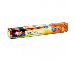 Film Alimentaire Etirable 2-en-1 Albal