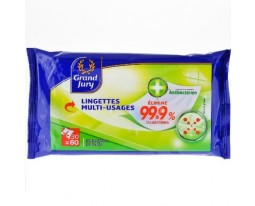 Lingettes Antibactérien Multi-Usage Grand Jury