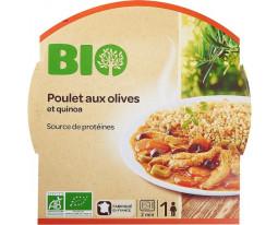 Poulet aux Olives et Quinoa Bio Carrefour