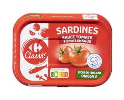 Sardines à la Sauce Tomate Carrefour