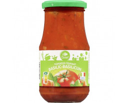 Sauce Tomate au Basilic Carrefour