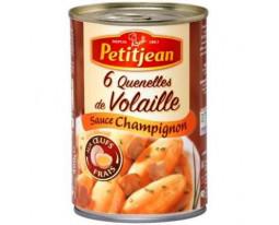 Quenelles de Volaille et Sauce Champignon Petit Jean
