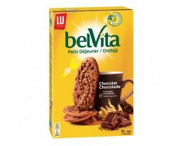 Biscuits Petit Déjeuner Céréales Chocolat Pocket Belvita Lu