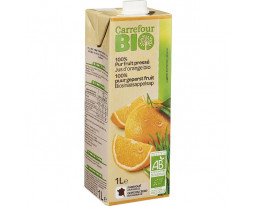 Pur Jus d'Orange Bio Carrefour