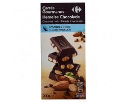 Chocolat Noir et Amandes Entières Carrefour