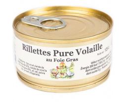 Rillettes Pure Volaille au Foie Gras Maison Dandieu