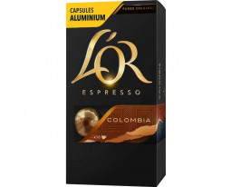 Capsules Café Espresso Colombie No08 L'Or
