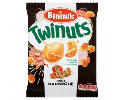Biscuits Apéritifs Twinuts Barbecue Bénénuts