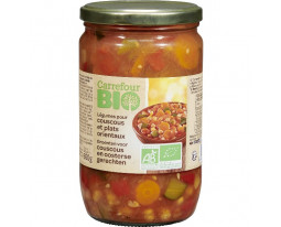 Légumes Cuisinés pour Couscous Bio Carrefour