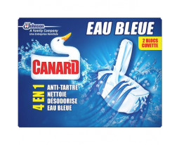 Blocs Cuvette WC Eau Bleue 4 Actions Canard