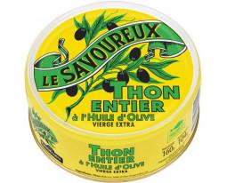 Thon Jaune Albacore Entier à l'Huile d'Olive Le Savoureux
