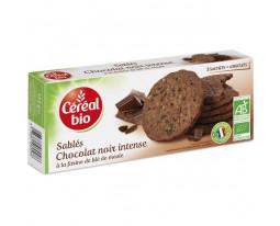 Sablés Chocolat Noir Intense Pocket Bio Céréal Bio