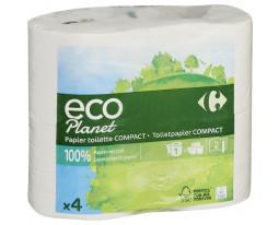 Papier Toilette Eco Compact 4=12 Rouleaux Carrefour