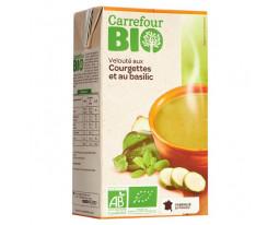 Velouté de Courgette et Basilic Bio Carrefour