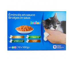 Emincés pour Chaton Assortis Grand Jury