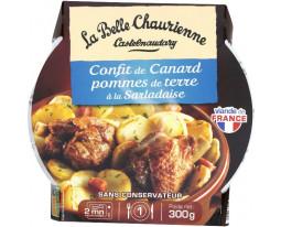 Confit de Canard et Pomme de Terre Salardaise La Belle Chaurienne