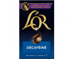 Café Moulu Décafeiné Pur Arabica No7 L'Or