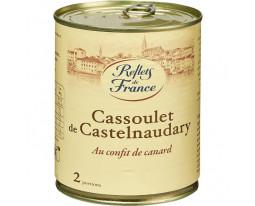 Cassoulet Castelnaudary au Confit de Canard Reflets de France