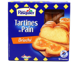 Tartines de Pain Brioché Pasquier