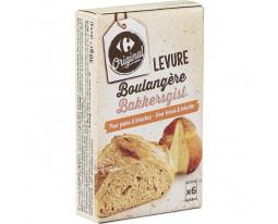 Levure Boulangère Carrefour
