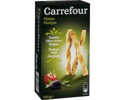 Flûtes Feuilletées Tomate Olive Origan Carrefour