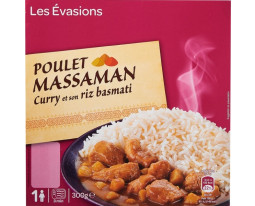 Poulet au Curry Massaman et Riz Basmati Grand Jury