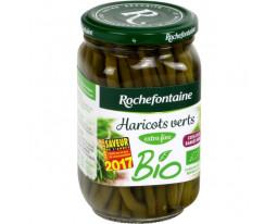 Haricots Verts Entiers Extra-Fin Bio Rochefontaine