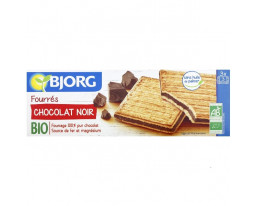 Biscuits Fourrés au Chocolat Noir Bio Pocket Bjorg