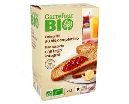 Pain Grillé au Blé Complet Bio Carrefour