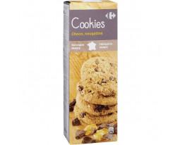 Cookies Nougatine et Pépites de Chocolat Carrefour
