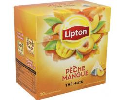 Thé Noir Pêche et Mangue Lipton