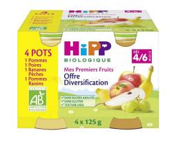 Mes Premiers Fruits Dès 6 Mois Bio Hipp