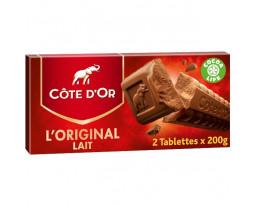 Chocolat au Lait Extra Fin l'Original Côte d'Or