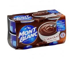 Crème Dessert au Chocolat Extra Fin Mont Blanc