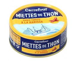 Miettes de Thon Rose Listao à la Tomate et Harissa Carrefour