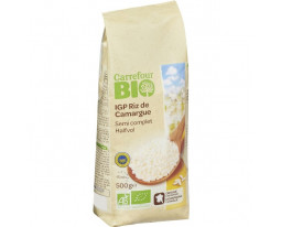 Riz de Camargue Semi Complet IGP Bio Carrefour