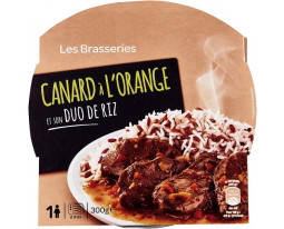 Canard à l'Orange et Duo de Riz Grand Jury