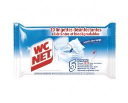 Lingettes Désinfectantes Jetables WC Biodégradables WC Net
