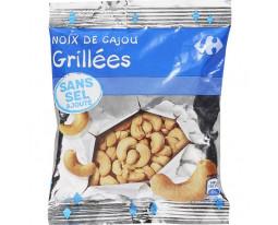 Noix de Cajou Grillées Sans Sel Ajouté Carrefour