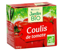 Coulis de Tomate Bio Jardin Bio