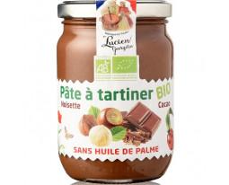 Pâte à Tartiner Chocolat Noisettes Bio Lucien Georgelin