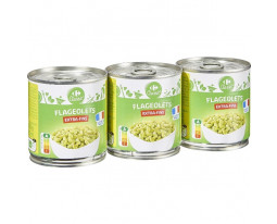 Flageolets Verts Extra Fin Carrefour
