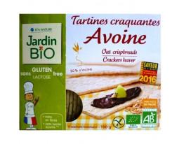 Tartines Craquantes d'Avoine Bio Sans Gluten Jardin Bio