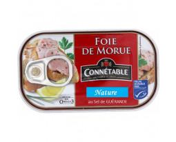 Foie de Morue Nature au Sel de Guérande Connétable