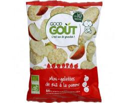 Mini Galettes de Riz à la Pomme Bio Dès 10 Mois Good Gout