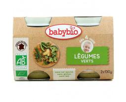 Légumes Verts Bio Dès 4 Mois BabyBio