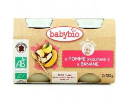 Pomme d'Aquitaine Banane Bio Dès 4 Mois BabyBio
